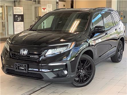 2019 Honda Pilot Black Edition (Stk: PL21092) in Kingston - Image 1 of 12