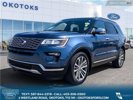 2018 Ford Explorer Platinum (Stk: MK-286A) in Okotoks - Image 1 of 26