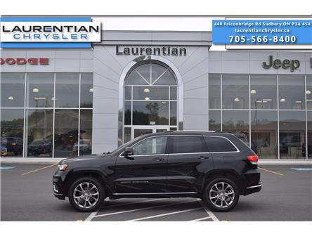 2019 Jeep Grand Cherokee Summit (Stk: 21171A) in Greater Sudbury - Image 1 of 38