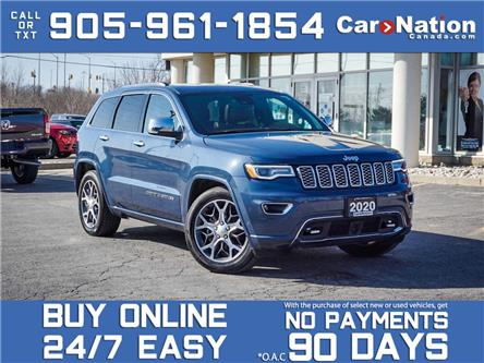 2020 Jeep Grand Cherokee Overland 4x4  COMPANY DEMO  SOLD  SOLD  SOLD  (Stk: P3315) in Burlington - Image 1 of 36