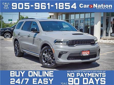 2021 Dodge Durango R-T Blacktop AWD| SUNROOF| NAVI| (Stk: DOM-574781) in Burlington - Image 1 of 36