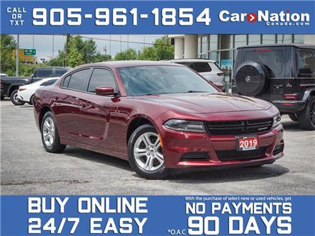 2019 Dodge Charger SXT| LOCAL TRADE| BACK UP CAMERA & SENSORS| (Stk: m485a) in Burlington - Image 1 of 37
