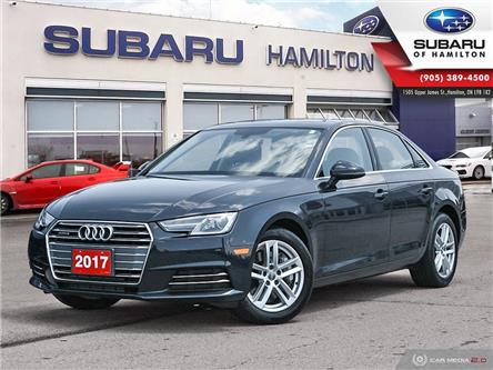 2017 Audi A4 2.0T Komfort (Stk: S9030A) in Hamilton - Image 1 of 29