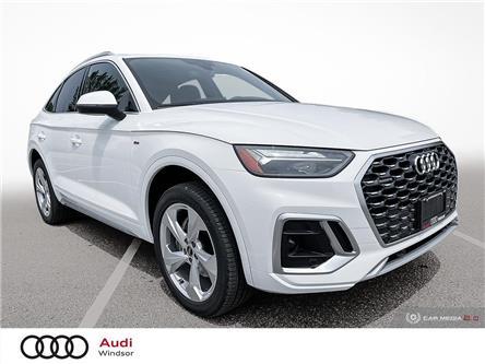 2021 Audi Q5 45 Progressiv (Stk: 21232) in Windsor - Image 1 of 30