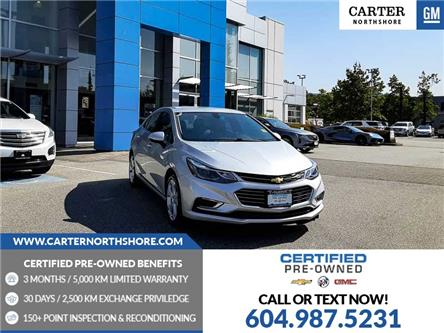 2018 Chevrolet Cruze Premier Auto (Stk: 975730) in North Vancouver - Image 1 of 29