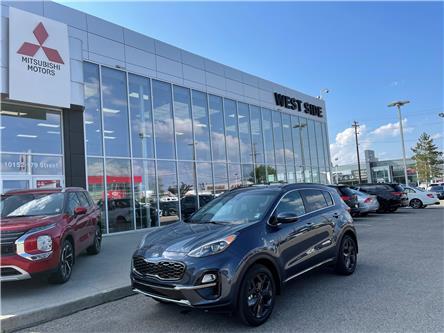 2021 Kia Sportage EX Premium S (Stk: 23038A) in Edmonton - Image 1 of 18