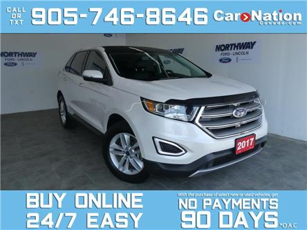 2017 Ford Edge SEL   AWD   V6    ROOF   LEATHER   NAV   ONLY 37KM (Stk: P7143) in Brantford - Image 1 of 26