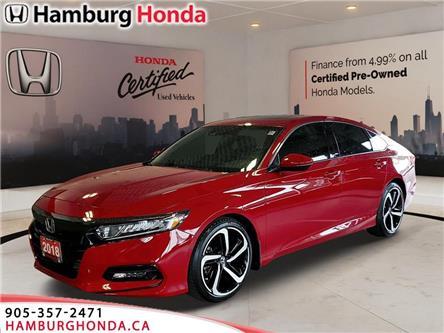 2018 Honda Accord Sport (Stk: T5823) in Niagara Falls - Image 1 of 17