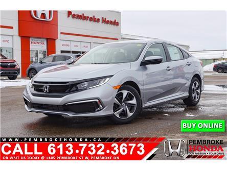 2021 Honda Civic LX (Stk: 21162) in Pembroke - Image 1 of 25
