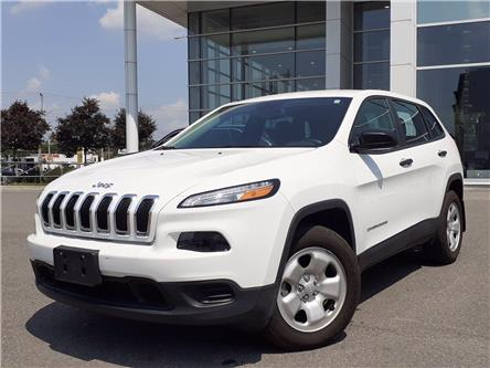 2017 Jeep Cherokee Sport (Stk: P9899A) in Gloucester - Image 1 of 23