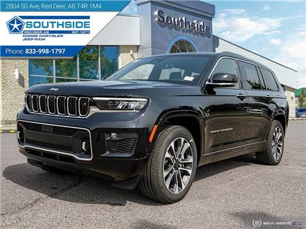 2021 Jeep Grand Cherokee L Overland (Stk: GC2152) in Red Deer - Image 1 of 25