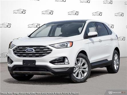 2021 Ford Edge Titanium (Stk: DD008) in Sault Ste. Marie - Image 1 of 23