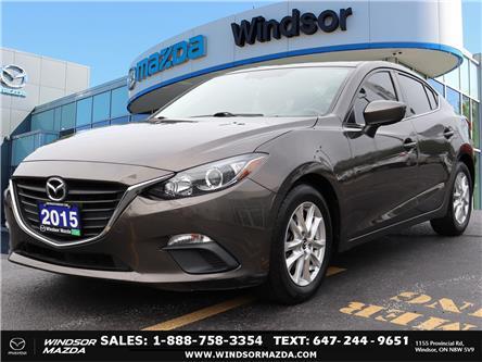 2015 Mazda Mazda3 GS (Stk: TR02318) in Windsor - Image 1 of 23
