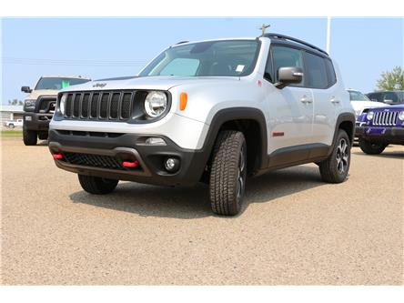 2021 Jeep Renegade Trailhawk (Stk: MT114) in Rocky Mountain House - Image 1 of 30