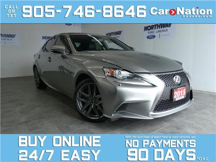 2015 Lexus IS 250 F SPORT | AWD | LEATHER | ROOF | NAV | ONLY 58 KM! (Stk: P7161) in Brantford - Image 1 of 28