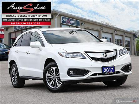 2017 Acura RDX Elite Package (Stk: 17RELP11) in Scarborough - Image 1 of 28