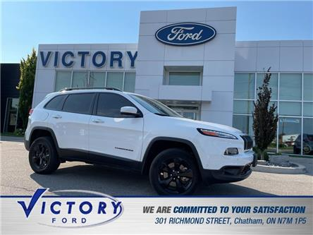 2018 Jeep Cherokee Limited (Stk: V6370) in Chatham - Image 1 of 20
