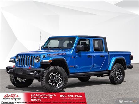 2021 Jeep Gladiator Rubicon (Stk: 21537) in Essex-Windsor - Image 1 of 23