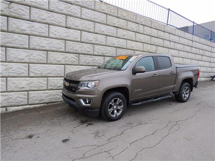 2017 Chevrolet Colorado 4WD Z71, Leather, Tow Hitch, Heated Seats (Stk: D10283A) in Fredericton - Image 1 of 18
