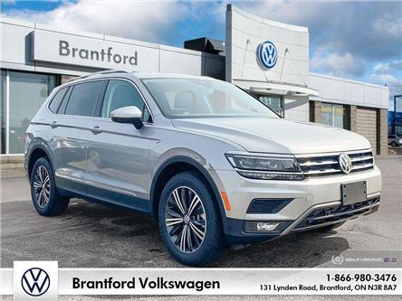 2021 Volkswagen Tiguan Highline (Stk: TI21680) in Brantford - Image 1 of 26