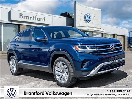 2021 Volkswagen Atlas Cross Sport 3.6 FSI Highline (Stk: AS21559) in Brantford - Image 1 of 26
