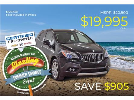 2015 Buick Encore Leather (Stk: M01343B) in Watrous - Image 1 of 43