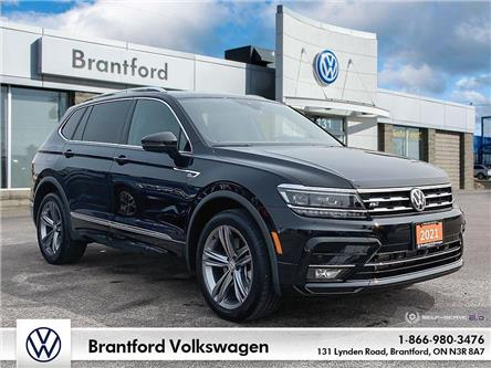 2021 Volkswagen Tiguan Highline (Stk: AT21779A) in Brantford - Image 1 of 26