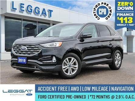 2019 Ford Edge SEL (Stk: P061) in Stouffville - Image 1 of 29