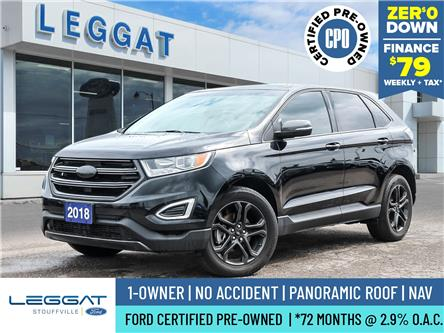 2018 Ford Edge SEL (Stk: P064) in Stouffville - Image 1 of 30