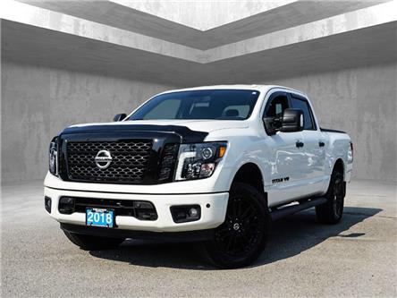 2018 Nissan Titan SV Midnight Edition (Stk: N28921A) in Penticton - Image 1 of 21