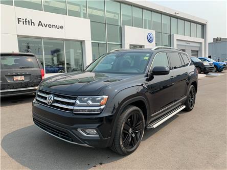 2018 Volkswagen Atlas 3.6 FSI Execline (Stk: 21091A) in Calgary - Image 1 of 21