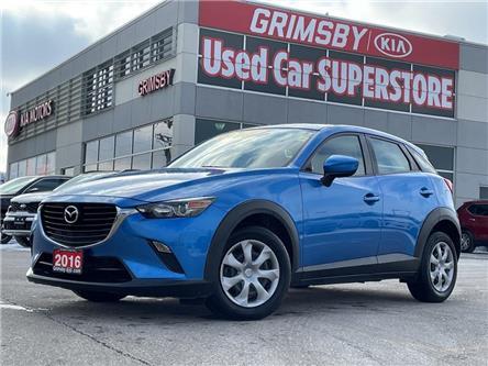 2016 Mazda CX-3 Gas Saver + All Wheel Drive!!!! (Stk: U1870) in Grimsby - Image 1 of 20