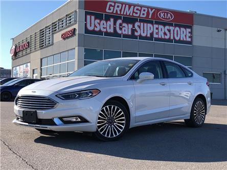 2017 Ford Fusion Awd, Leather, Navi, Sunroof and so much more (Stk: U1950A) in Grimsby - Image 1 of 20