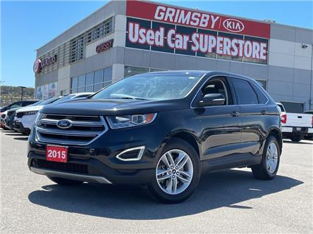 2015 Ford Edge SEL AWD/LEATHER/NAVI/PANO ROOF (Stk: N4262B) in Grimsby - Image 1 of 21