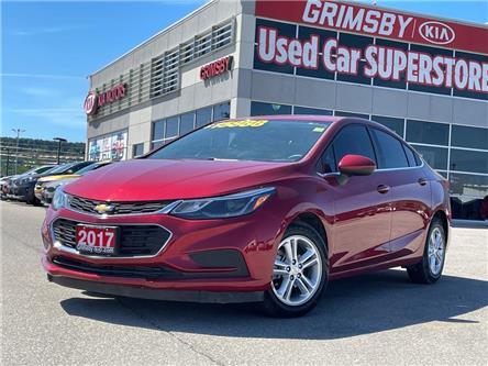2017 Chevrolet Cruze LT | LOW KM! | Backup Cam | Bluetooth | Heat Seat (Stk: U2018) in Grimsby - Image 1 of 20