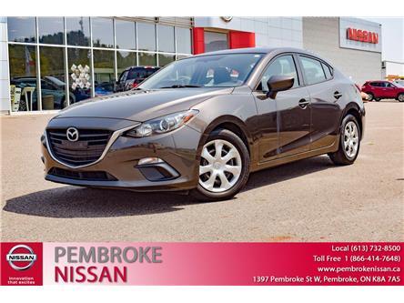 2016 Mazda Mazda3 GX (Stk: 21074A) in Pembroke - Image 1 of 29