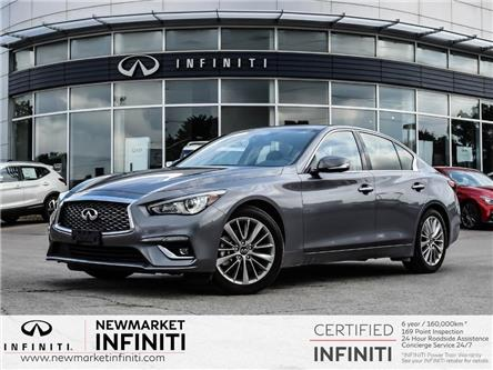 2021 Infiniti Q50 Luxe (Stk: 21Q501) in Newmarket - Image 1 of 26