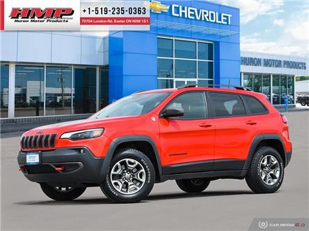 2019 Jeep Cherokee Trailhawk (Stk: 91245) in Exeter - Image 1 of 27