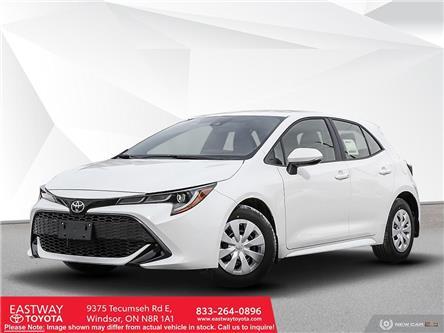2021 Toyota Corolla Hatchback Base (Stk: CO9815) in Windsor - Image 1 of 23