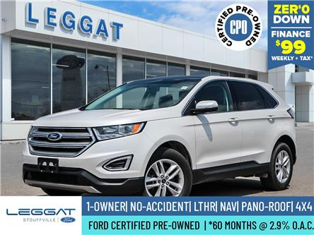 2017 Ford Edge SEL (Stk: 21D1047A) in Stouffville - Image 1 of 30