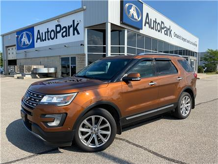 2017 Ford Explorer Limited (Stk: 17-87806JB) in Barrie - Image 1 of 39