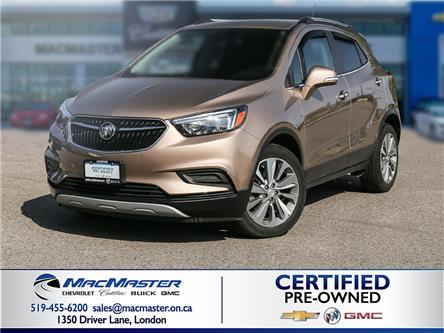2018 Buick Encore Preferred (Stk: 210090A) in London - Image 1 of 10