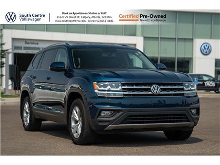 2018 Volkswagen Atlas 3.6 FSI Comfortline (Stk: U6762) in Calgary - Image 1 of 41