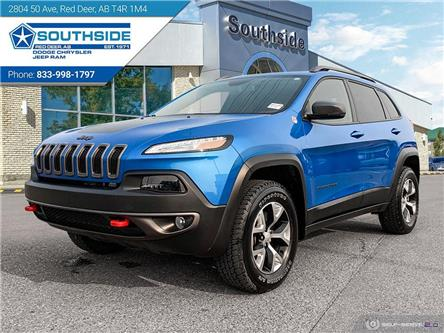 2018 Jeep Cherokee Trailhawk (Stk: WR2139A) in Red Deer - Image 1 of 25