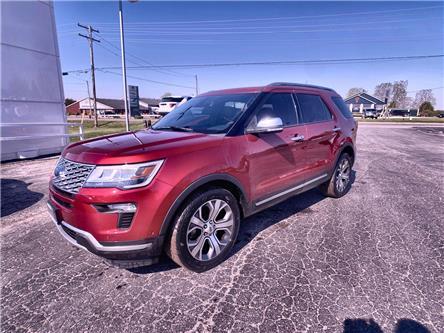 2018 Ford Explorer Platinum (Stk: 15921-1) in Wyoming - Image 1 of 26