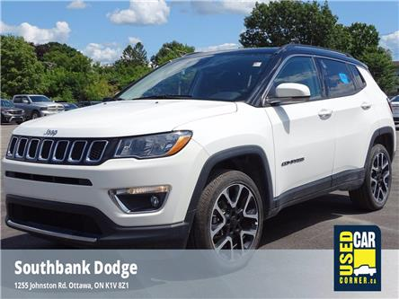 2020 Jeep Compass Limited (Stk: 923235) in OTTAWA - Image 1 of 25