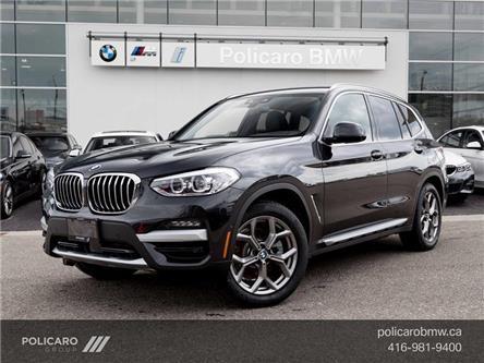 2021 BMW X3 xDrive30i (Stk: 1E50726) in Brampton - Image 1 of 19