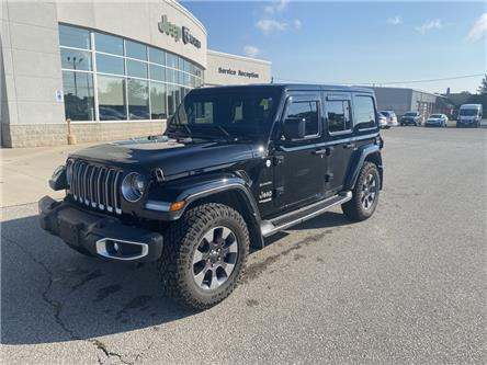 2020 Jeep Wrangler Unlimited Sahara (Stk: N05048A) in Chatham - Image 1 of 18