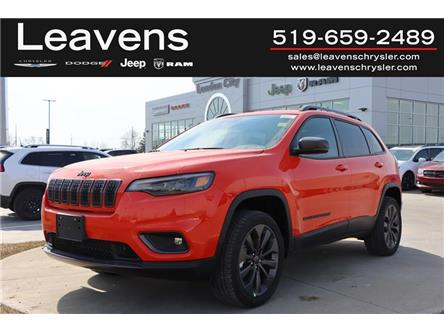 2021 Jeep Cherokee North (Stk: LC21097) in London - Image 1 of 24