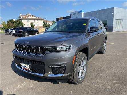 2021 Jeep Grand Cherokee L Limited (Stk: 21-240) in Ingersoll - Image 1 of 21